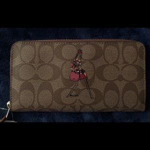 COACH Anniversary Edition Bonnie Cashin Zip Wallet